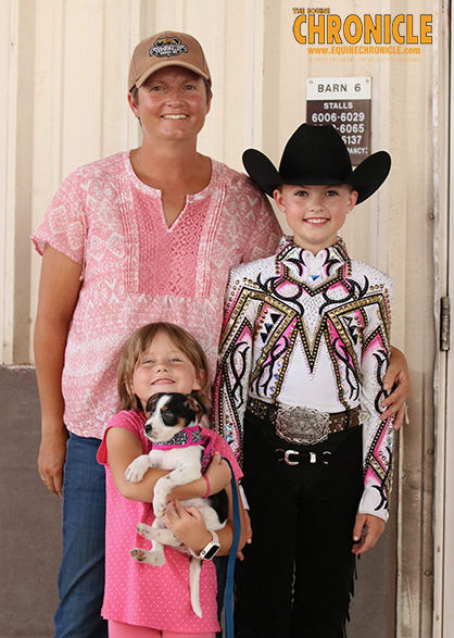 EC TV- First-Time AQHA Youth World Competitor- 11-Year-Old Kyrah Bowker