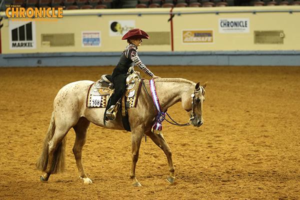 Emma Gore/My Only Good Shoes, Nya Kearns/Never Sudden Win Horsemanship at AQHA Youth World Show