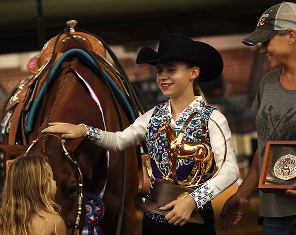 Alexa Brown and Corporate Credit Win First World Title in 13 and Under Trail