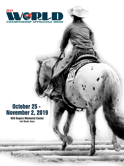Premium Book For 2019 Appaloosa World Show Released
