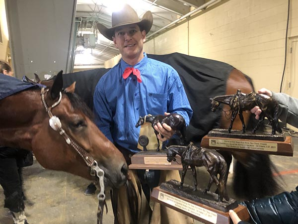 Trevor Johns Pilots Legacy Made to Win 4 & 5-Year-Old Non Pro Trail Stakes at Congress