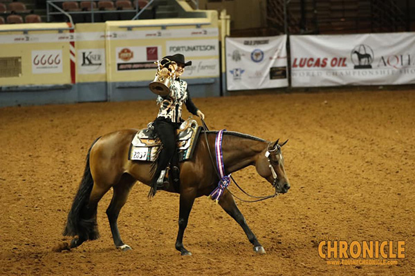 Taylor Searles/Hereicomagain Win AQHA World Amateur Western Riding