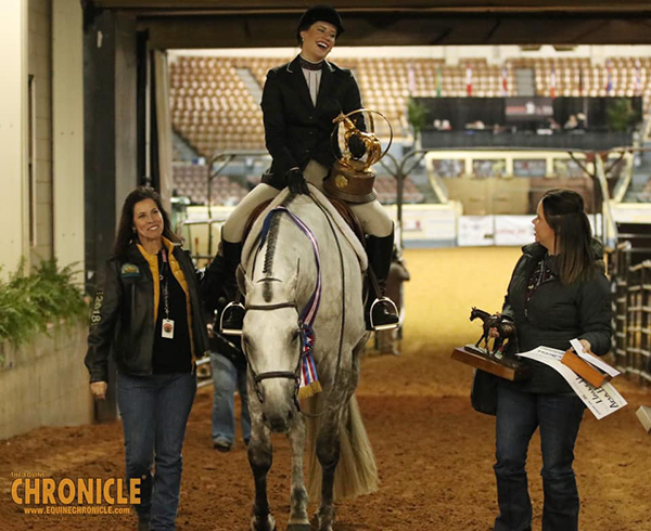 2019 AQHA World- Amateur Hunter Under Saddle