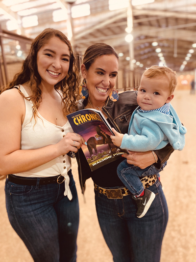 At the AQHA World Championship – November 11, 2019 with the G-Man