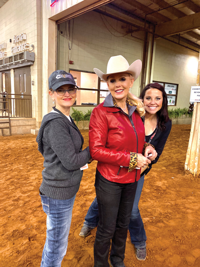 At the AQHA World Championship – November 14, 2019 with the G-Man