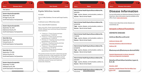 Equine Disease Communications Launches New Phone App