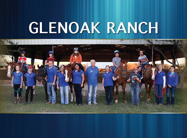 Champion Horses Find a Second Career at Glenoak Ranch Therapeutic Riding Center