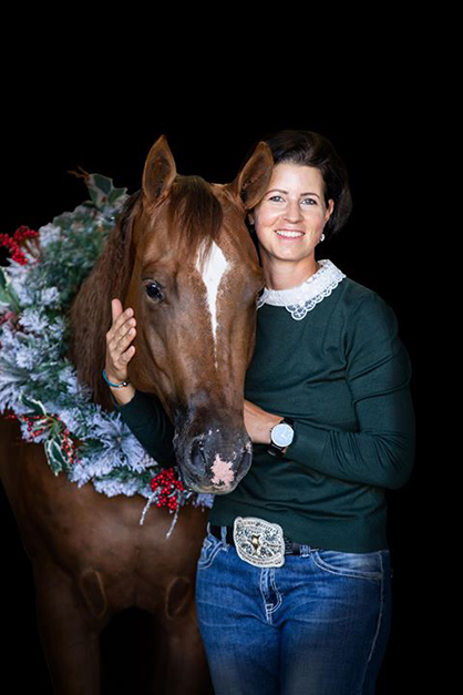 EC Photo of the Day- Christmas Card with Your Horse