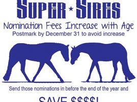 Super Sires Nomination Deadline Fast Approaches