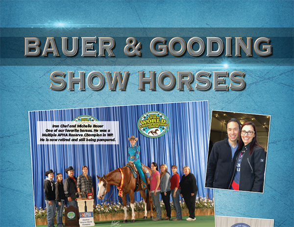 Bauer & Gooding Show Horses