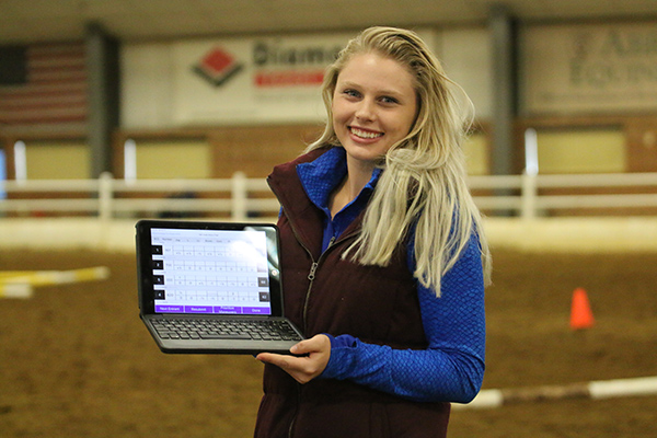 Judge/Electrical Engineer Develops Innovative Scribe App For Horse Shows