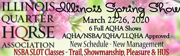 IlQHA Spring Showbill Now Online
