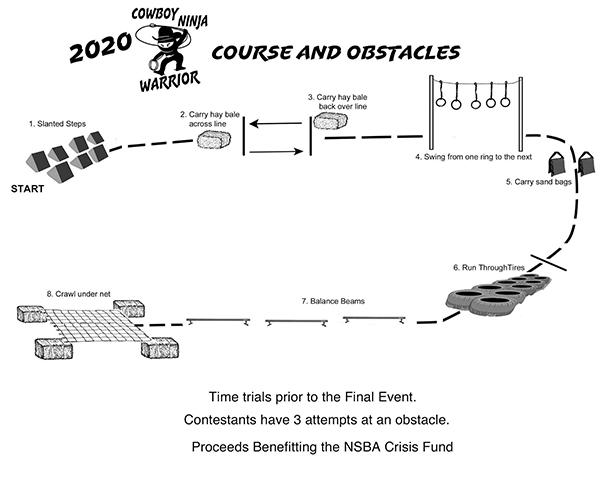 Sun Circuit Cowboy Ninja Warrior Course