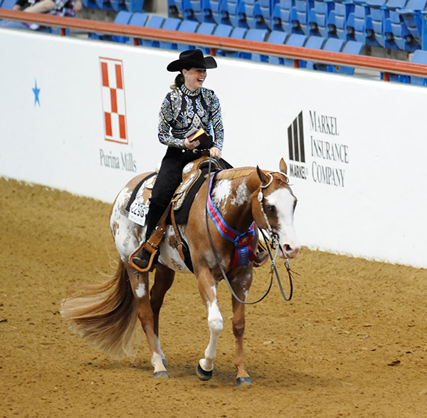 In Loving Memory of Multiple APHA World Champion, Zipped From The Heart