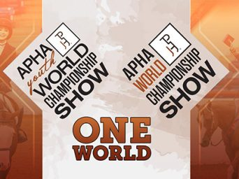 2020 APHA Youth World Postponed to Fall- Reunited with Open/Amateur World Show