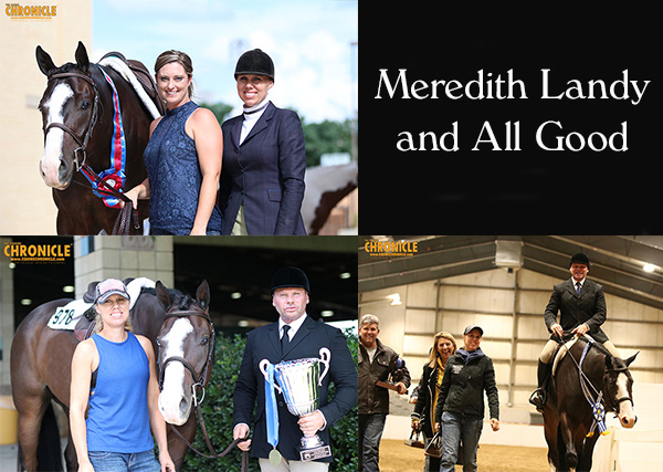 Meredith Landy is Proud New Owner of Multiple World and Congress Champion, All Good