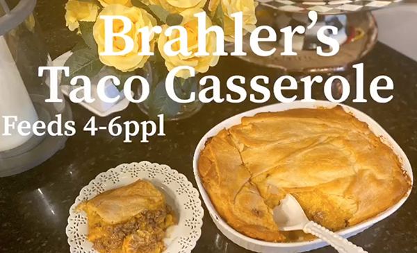 EC TV- What's Cookin'? Brahler Family Taco Casserole