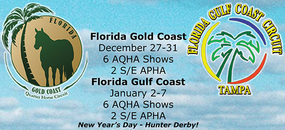 Dates Confirmed For FL Gold and Gulf Coast