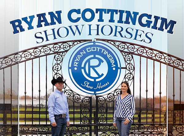 Ryan Cottingim Show Horses