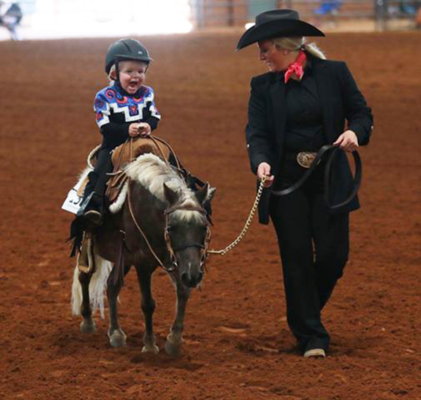 EC Photo of the Day- Excited to Show Horses!