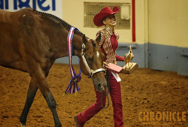 First Time Winners, Camille Kennedy and Ava Hathaway, Win Titles at AQHA Youth World