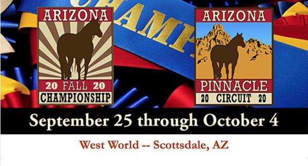 AZ Fall Championship Adding More Futurity Monies!