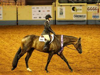 EC Cover Girl, Natalie Vargo, Wins 14-18 Hunter Under Saddle at AQHA Youth World