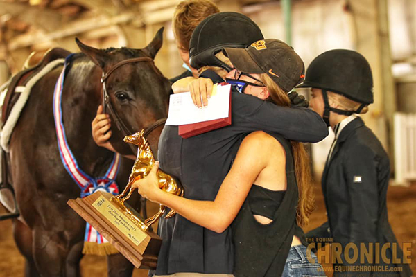Equitation Winners at AQHA Youth World Include Brooke Jolstad, Nya Kearns, and Lucy Lewis