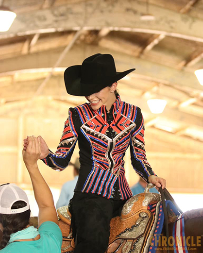 Dakota Andrie and Never Have I Ever Win AQHA YWC L1 13 and Under Western Pleasure