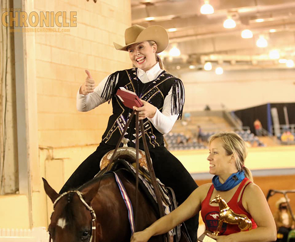 Evening Winners at AQHA Youth World Include Keller, Humbert, and Bennett