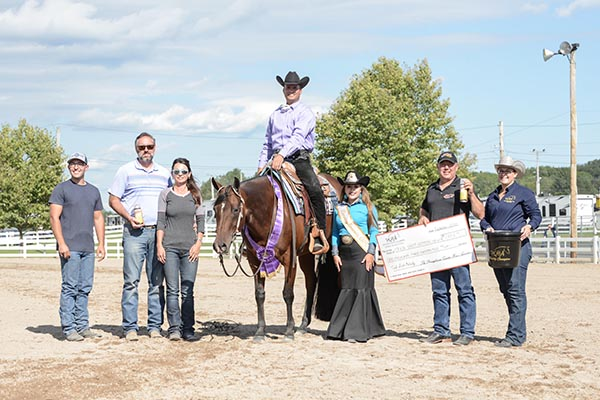 PQHA Nittany Classic and Futurity Shows Big Increase