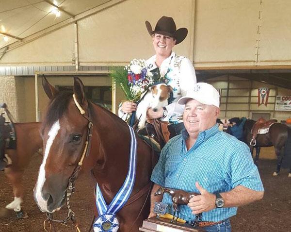 First Winner of QH Congress Trainer Award Program- Ted Chancey
