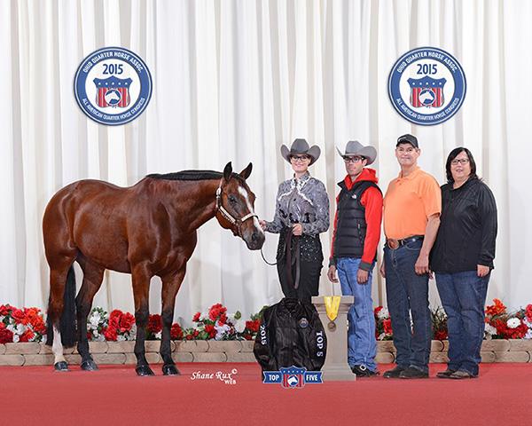 Quarter Horse Congress $1,000 Trainer Award Winner- Charlie Bussières