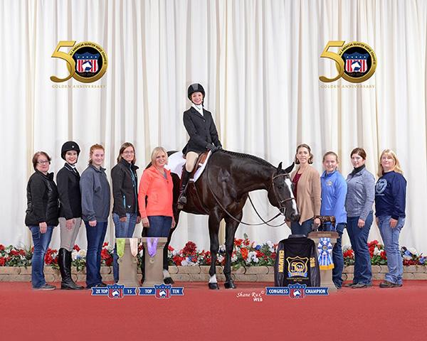 Quarter Horse Congress $1,000 Trainer Award- Karla Friedli