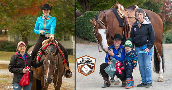 Mom and Daughter Duos Make the Most Out of APHA Eastern National Championship