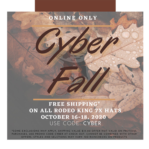 Shortys Caboy Hattery Online Only Cyber Fall Sale