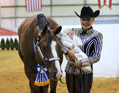 Congress From Home- 2016- Three Months After Becoming a Mom, Angela Fox Wins Am Showmanship