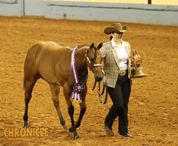 First Time AQHA World Champions Include Robin Robinett and Kate Griffiths Jackson