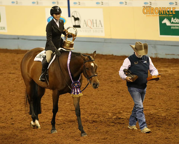 AQHA Over Fence World Champions Include Linda Crothers and Chuck Briggs