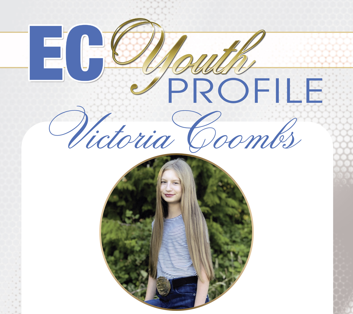 Victoria Coombs – EC Youth Profile