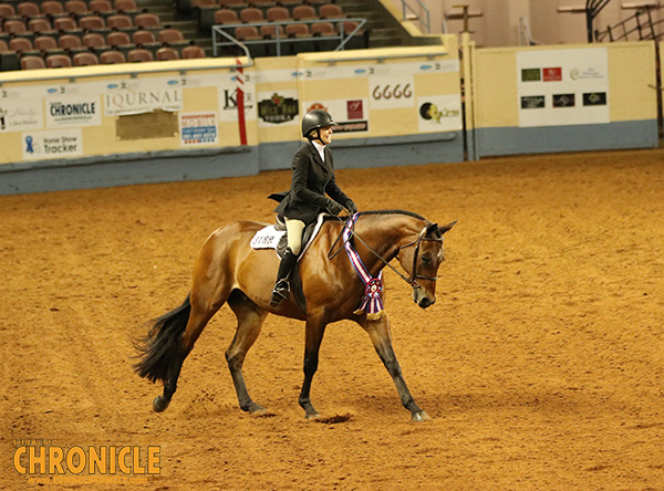 Laurel Champlin and Look N Hott Win Third Select Equitation World Title