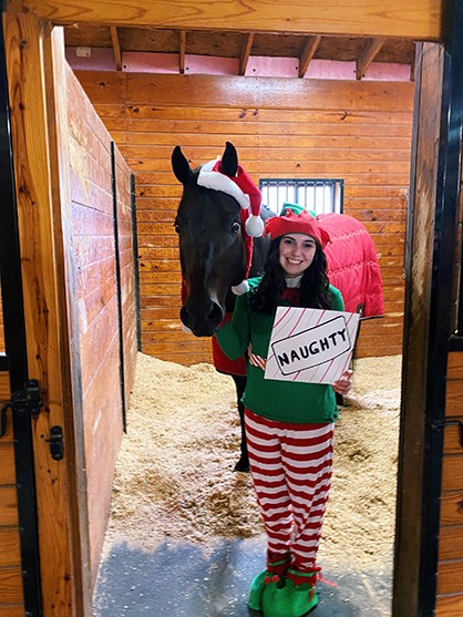 NJQHYA Holiday Horsey Photo Contest