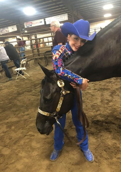 EC Photo of the Day- Horse Show Hugs