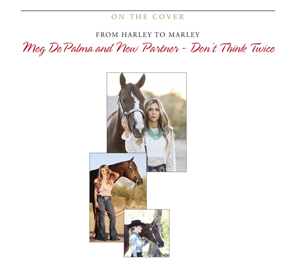 Cover Story: From Harley to Marley Meg DePalma and New Partner – Don't Think Twice