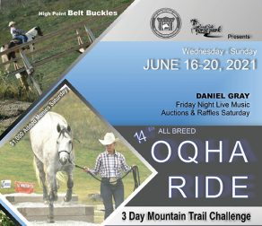 2021 All Breed OQHA Trail Ride and Challenge