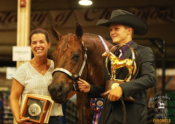 Champions During Day 1 of AQHA Youth World Include West, Froman, Blackwell, Beauchamp, Black, and More