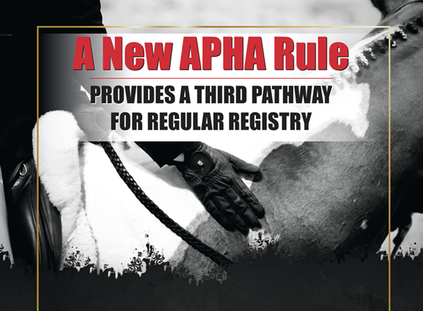 A New APHA Rule Provides A Third Pathway for Regular Registry