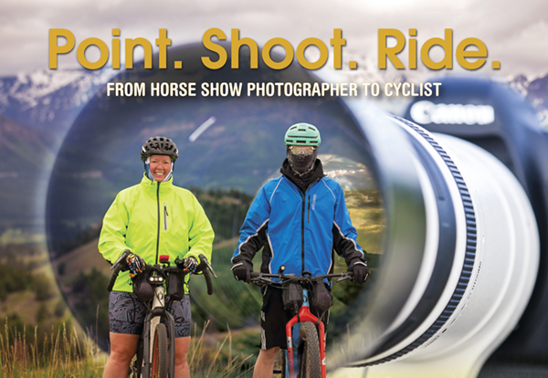 Point. Shoot. Ride.