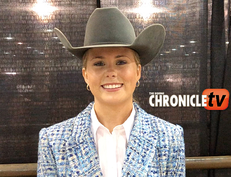 AQHA Youth World-  Avery Langley with The Right Mechanic