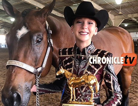 AQHA Youth World- Kenzie Bracken and Styles Sophisticated
